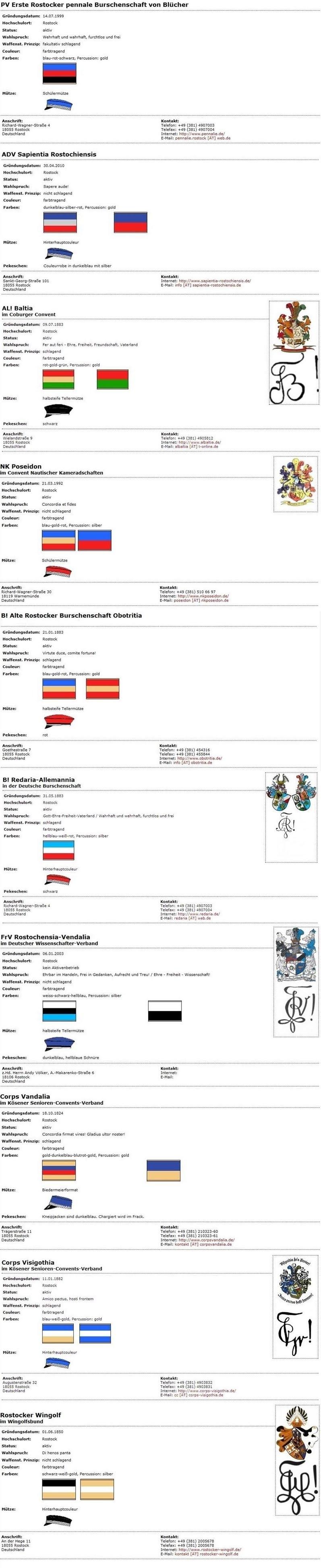Rostocker Verbindungen (frei) (Individuell) 2