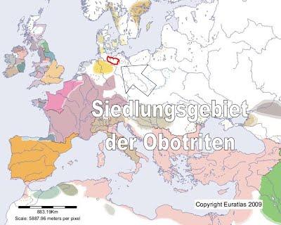 Siedlungsgebiet Obotriten